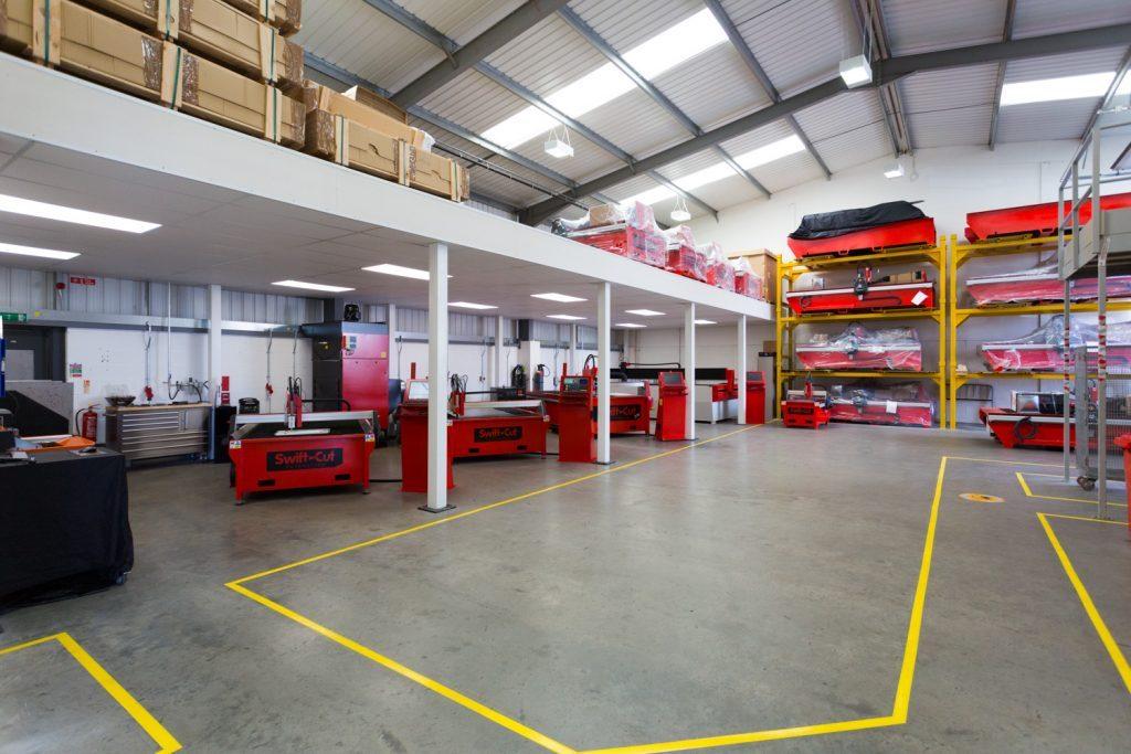 Dr Liam Fox Opens Swift-Cut Factory 2